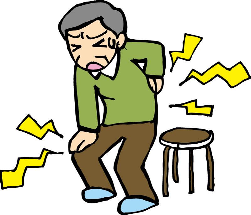 腰痛症の症状と治療および予防法